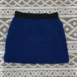 BCBGeneration blue mini skirt